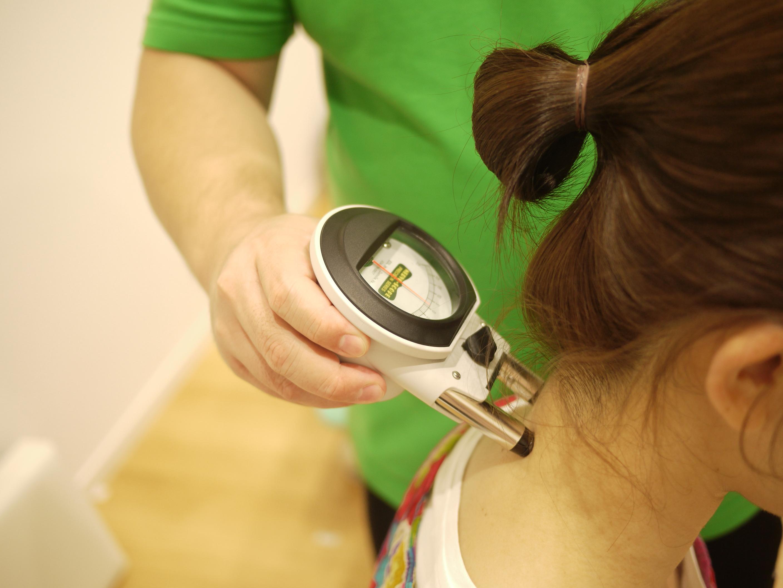背骨の測定